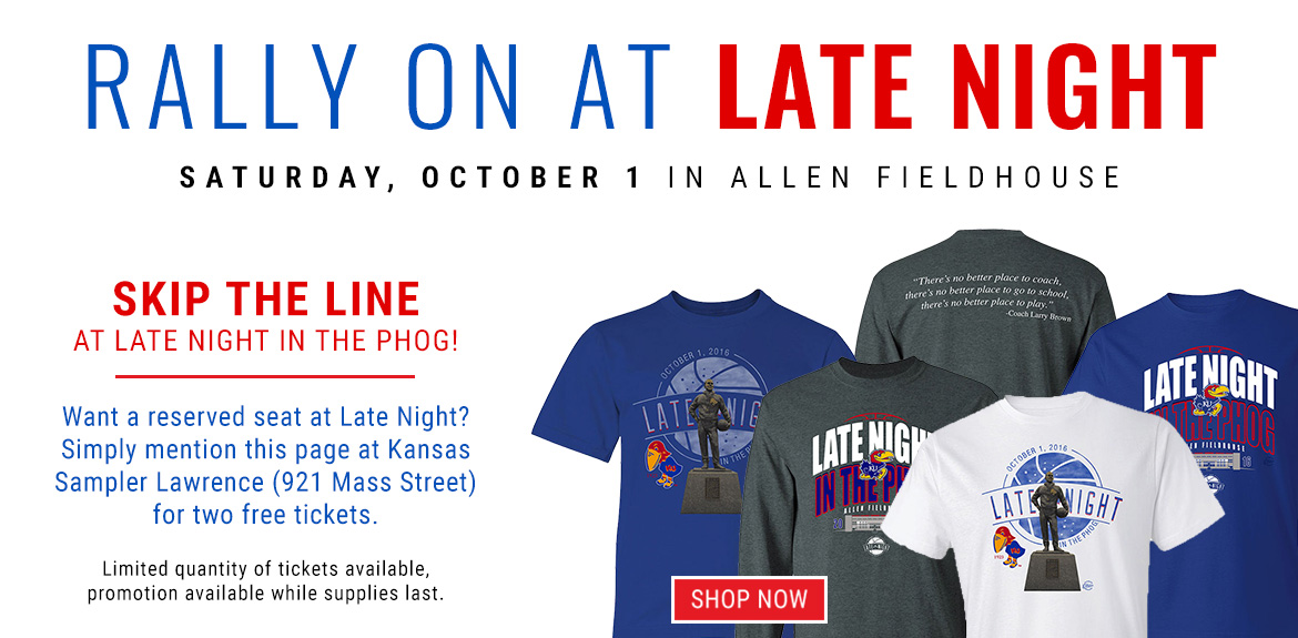 Skip the Line at Late Night at the Phog!